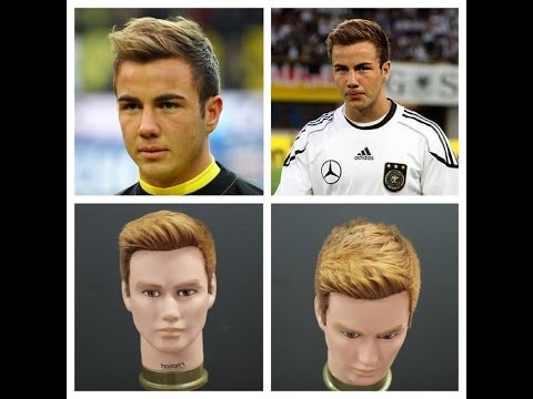Mario Gotze Haircut & Hairstyle Tutorial - TheSalonGuy