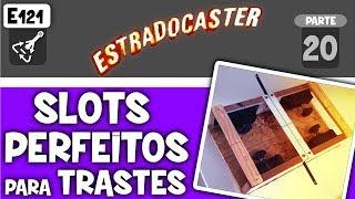 🔥 Slots para trastes PERFEITOS usando caixa esquadrejadeira (mitre box ou miter box) (E121)