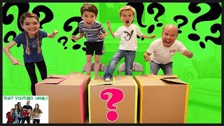 Don't Jump In The Wrong Mystery Box / That YouTub3 Family