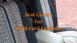 Coverking Seat Covers  - How to install seat covers - 2008 ford explorer xlt