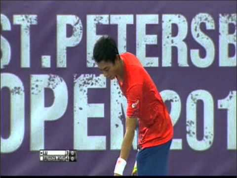 2012 - St.Petersburg Open - R32 - LU Yen-hsun vs Robert BAUTISTA-AGUT