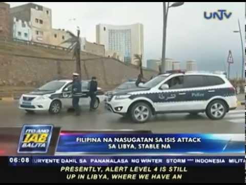 2 Filipino na sinasabing nasawi sa Tripoli attack, hindi pa kumpirmado ng DFA