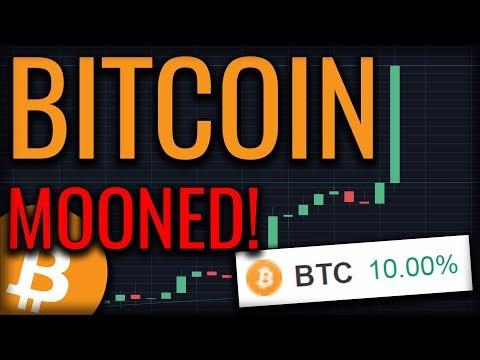 Bitcoin Skyrockets 10% In An HOUR! $8,000 Bitcoin Soon?