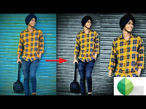 Very Easy Stylish Photo Editing By Snapseed App/Simple Photo To Stylish Photo/Photo retouching   BIR