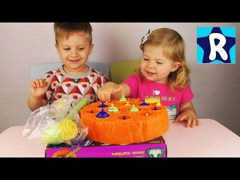 ★ Игра НЛО Обзор Распаковка Игры для Детей Game Toys unboxing Roma Show