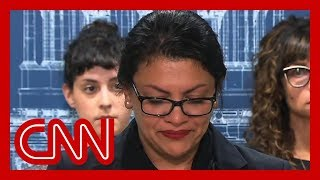 Tlaib gets emotional: Americans should be deeply disturbed