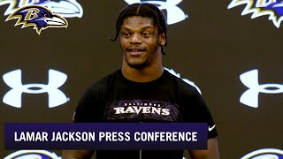 Lamar Jackson Says Would Be 'An Honor' to Break Michael Vick's Record | Baltimore Ravens