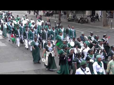 Défilé Kimbanguiste du lundi 25 mai 2015 à Paris