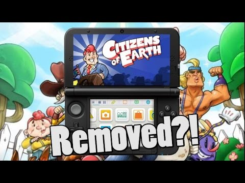Why Citizens Of Earth Was Taken Off 3DS E-shop?