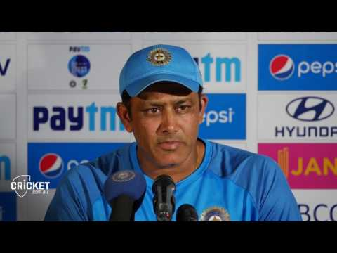 "Indian coach Kumble laments ""bad day"" thumbnail"