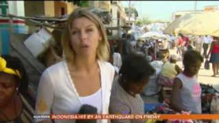 Haiti Continuing To Rely On Food Handouts 16 Oct 09