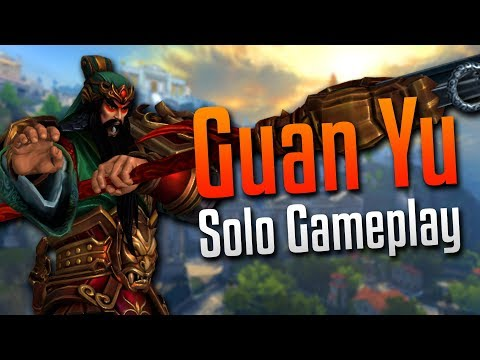 Smite: The Counter Got Countered!- Guan Yu Solo Gameplay