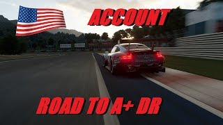 GT Sport Road To A+ DR American Account