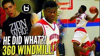 360 WINDMILL?! Zion Williamson w/ SPORTSCENTER DUNK in 50 pt. BLOWOUT!