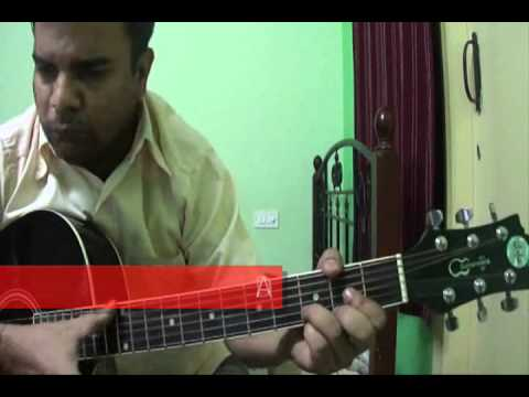 Chandi Jaisa Rang Hai Tera On Guitar video