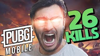 26 KILLS M249, M24, AIRDROP | WHEN RAWKNEE PLAYS SERIOUSLY | PUBG MOBILE HIGHLIGHTS