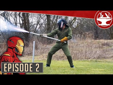 Flying Like Iron Man #2: First Rocket Tests