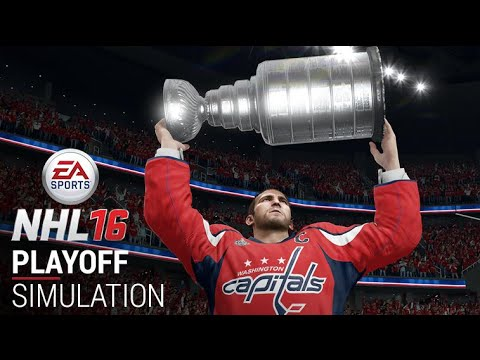 nhl 16: 2016 stanley cup playoffs simulation! youtube
