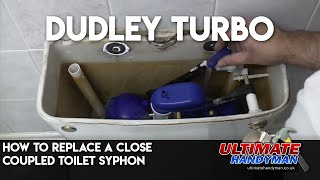 How to replace a close coupled toilet syphon |  Dudley Turbo