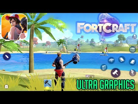 Download FortCraft APK for Android/iOS - A Fortnite