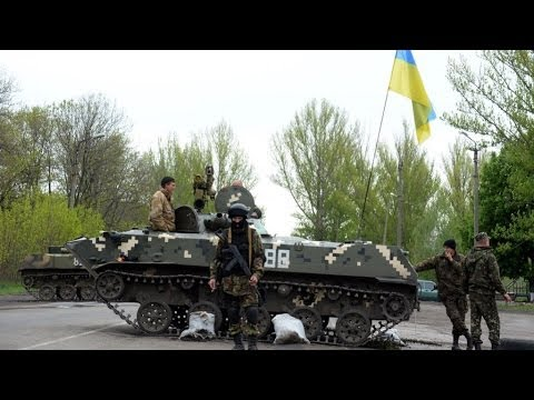 Ukraine: Kiev's offensive 'destroys hope for Geneva deal' says Putin