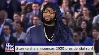 Starrkeisha Announces 2020 Presidential Run! 😂 | Random Structure TV