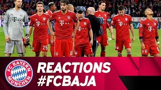 """It wasn't enough"" - Reactions after FC Bayern vs. Ajax Amsterdam"
