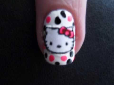 Hello Kitty Nails - Hello Kitty körmök