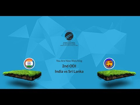 Live match | 2nd ODI | India vs Srilanka | Blind Cricket