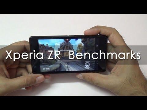 Sony Xperia ZR Benchmarks - Geekyranjit