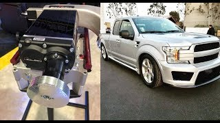 Supercharged Saleen Sport Truck Introduced With 700 HP