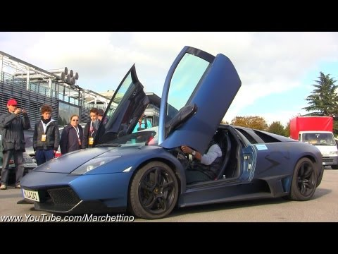 Lamborghini LP670-4 SV LAUNCH and Accelerations!