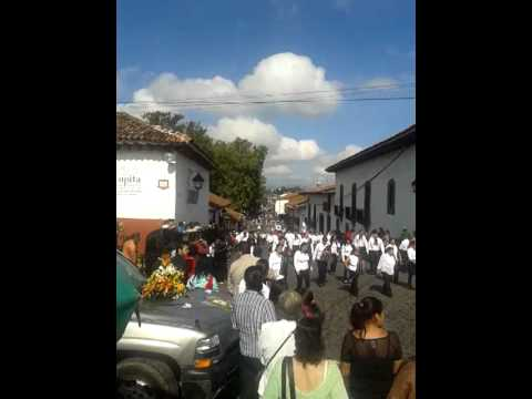 Desfile Pátzcuaro Michoacán México