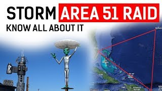 Storm Area 51 Raid know all about it, Why US Air Force is preventing people from going near Area 51?