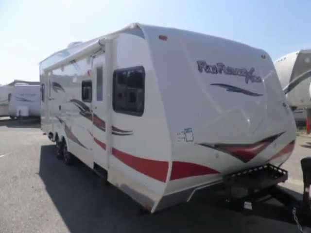 Fun Finder 276x Toy Hauler Slide out and Seperate Garage 1-231-286-5794