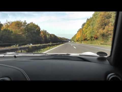 302 km/h Ride in a Ferrari F12 Berlinetta on German Autobahn