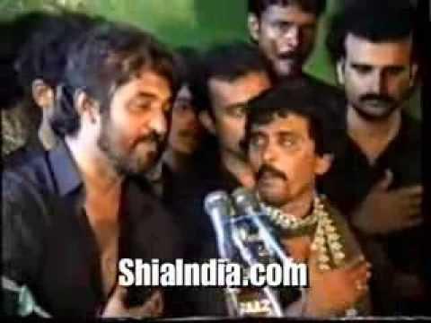 Anjuman E Masoomeen Vidayi Mataam 1992 At Bibi Ka Alawa Mir Saber Ali Zawar video