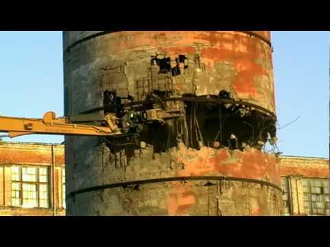Порядок демонтажа дымовой трубы котельной