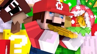 Super Mario Run In Minecraft» Animated Shorts