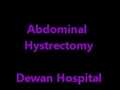 Total Abdominal Hystrectomy for multiple fibroids, menorrhagia - Dr Narotam Dewan, Dewan Hospital