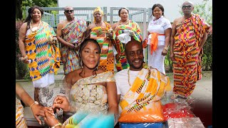 IKE & MAAME SERWAA TRADITIONAL MARRIAGE @HANNOVER BY HUMBLE IKE