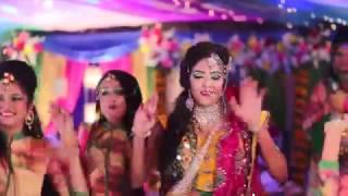 Logno Holud Night Dance Performance ( Bride dance) ( Mehedi hain rajne , Maine payel , Suraiya )