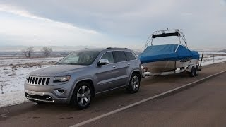 2014 Jeep Grand Cherokee EcoDiesel 0-60 MPH Towing Review