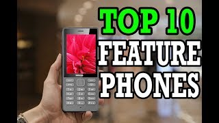 Top 10 Best Feature Phones 2019 Under 1000 | Best Keypad Phones 2019