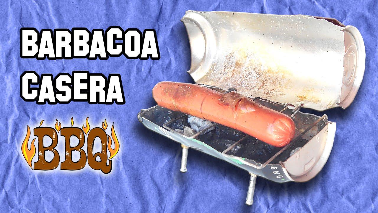 Como hacer una mini barbacoa casera experimentos caseros - Hacer barbacoa casera ...