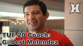 TUF 20's Melendez Explains He and Pettis Have No Relationship At All