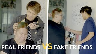 REAL FRIENDS VS FAKE FRIENDS