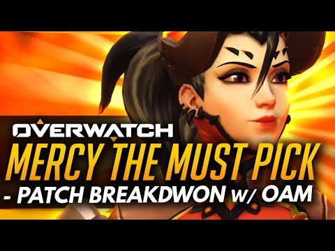 Overwatch | Mercy The MUST PICK + How Good Is New Dva?