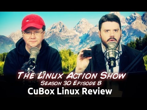 CuBox Linux Review   LAS s30e08