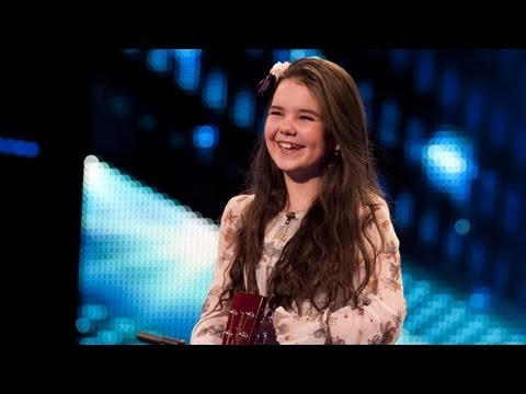 Lauren Thalia Turn My Swag On - Britain's Got Talent 2012 Audition - Uk Version video